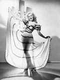Fox Starlet June Haver, Ca. Late 1940s Photo