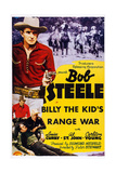 Billy the Kid's Range War, (Aka Texas Trouble), Bob Steele (Top Left), 1941 Plakater