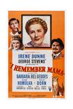 I Remember Mama, Philip Dorn, Barbara Bel Geddes, Irene Dunne, Oskar Homolka, 1948 Posters