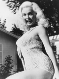 The Girl in Black Stockings, Mamie Van Doren, 1957 Photo