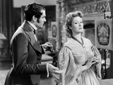 Pride and Prejudice, from Left, Laurence Olivier, Greer Garson, 1940 Photo