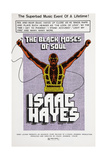 The Black Moses of Soul, Isaac Hayes, 1973 Poster