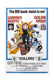 $, (Aka Dollars), from Left: Warren Beatty, Goldie Hawn, 1971 Prints