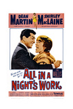 All in a Night's Work, 1961 Plakater