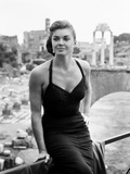 Raw Wind in Eden, Esther Williams, on Location in Rome, 1958 Foto