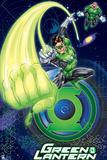 Green Lantern: Green Lantern Using Ring Wallpaper Posters