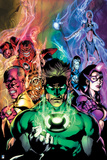 Green Lantern: Blackest Night No. 4 Cover (Color) Posters