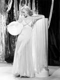 Swing Time, Ginger Rogers in Ensemble Designed by Bernard Newman, 1936 Photo
