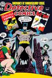 Batman: Cover Batman and Robin 30 Years of Comics Batman Holding Comics Posters