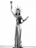 Arlene Dahl as Lady Liberty, 1948 Photo