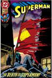 "Superman: Superman No. 2 ""The Death of Superman!"" (Color) Prints"