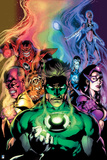 Green Lantern: Blackest Night No. 4 Cover (Color) Prints