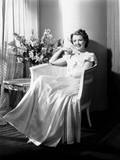A Star Is Born, Janet Gaynor, in a Gown by Omar Kiam, 1937 Photo