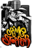 Superman: Crime Stopper Superman in Spray Paint and Graffiti Style Posters