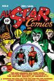 Justice League: All Star No. 8 (Color) Prints