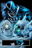 Green Lantern: Black Hand with Skull (Color) Posters
