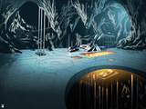 Batman: Look Inside Batcave Metallic Floor with Machines Prints
