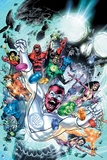 Green Lantern: Blackest Hand Comic Cover Posters