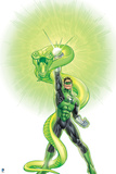 Green Lantern: Green Lantern with Snake Poster