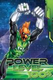 "Green Lantern: Green Lantern: ""Power Level 100%"" Poster"