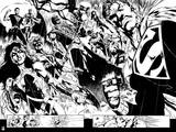 Green Lantern: Evil Superman, Wonder Woman, and Others (Black and White) Posters
