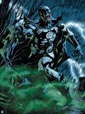 Green Lantern: Black Lantern Batman (Color) Print