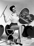 Ann Miller, Mgm Valentine's Day Pin-Up, Early 1950s Photo