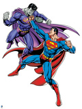 Superman: Superman Vs Bizarro Prints