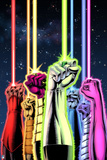 Green Lantern: Green Lantern Fists (Color) Posters