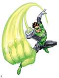 Green Lantern: Green Lantern Using Ring Posters