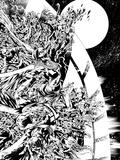 Green Lantern: Green Lantern Enemies 2 (Black and White) Print