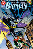 Batman: Cover Batman and Robin Jumping Down Posters