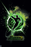 "Green Lantern: Green Lantern Silhouette: ""Green Lantern"" Posters"