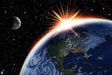Green Lantern: Earth and Moon Prints