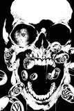 Green Lantern: Green Lantern Skull (Black and White) Posters