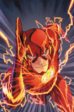 Justice League: the Flash Charging Forward Print