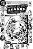 Justice League: Justice League America No 207 (Black and White) Prints