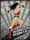 DC Wonder Woman Comics: New Constructivism Prints