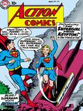 Superman: Action Comics Color Cover - Superman and the Introduction of Supergirl Posters