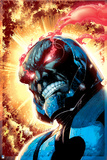 Justice League: Darkseid with Flaming Red Eyes Prints
