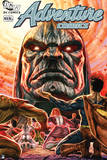Justice League: Adventure Comics Cover: Superheroes, Such as Superman, Kneeling to Darkseid Above Posters