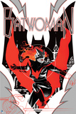 Batman: Batwoman Cover Red and Black Action Stance Prints