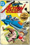 Superman: Superman's Action Comics Cover -It's a Bird, it's a Plane, it's Supermobile! Posters