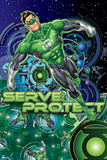 DC Green Lantern Comics: Core Energy Poster