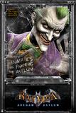 Batman Arkham Asylum Print