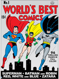 Justice League: World's Best Comics No.1 Print