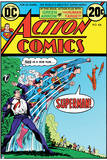 Superman: Action Comics Cover - This Is a Job for Superman! Clark Kent to Superman Transformation Prints