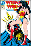 Wonder Woman: Wonder Woman Comic Cover - Standing Proud Prints