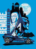 Beware the Batman Animated Series Prints