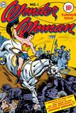 Wonder Woman: No. 1 Wonder Woman - Riding a Horse into Battle Posters